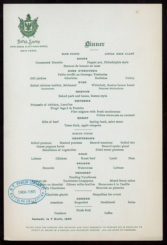 Filedinner Table Dhote Held By Hotel Savoy At Fifth