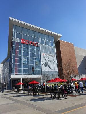 Durham Performing Arts Center - Spectators Entering Durham Performing Arts Center