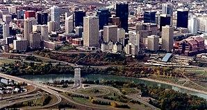 Stadtzentrum von Edmonton