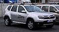 Dacia Duster 105 4x4 Prestige – Frontansicht, 31. Juli 2012, Heiligenhaus.jpg