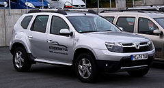 Dacia Duster I przed liftingiem