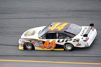 Dale Jarrett - Jarrett's No. 44 car at Daytona International Speedway in 2008