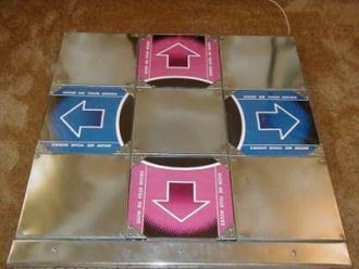 Dance pad - Homebrew DDR pad