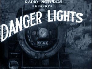 Danger Lights - Screenshot from the film.