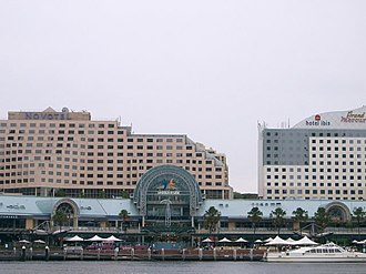 Harbourside Shopping Centre - View of Harbourside from Cockle Bay Wharf