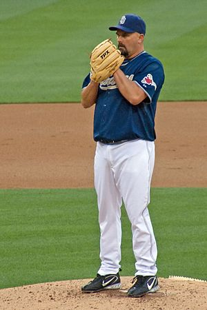 David Wells - Wells with the Padres in July 2007