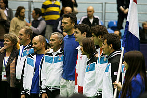 Croatia Davis Cup team - Croatian Davis Cup team in 2011