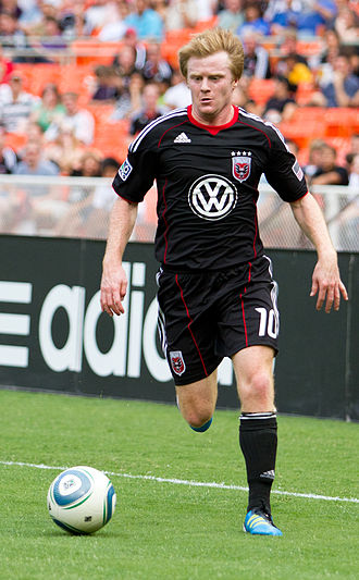 Dax McCarty - McCarty with D.C. United.