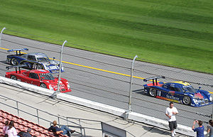 Daytona Prototype - Daytona Prototypes competing at the 2007 24 Hours of Daytona.