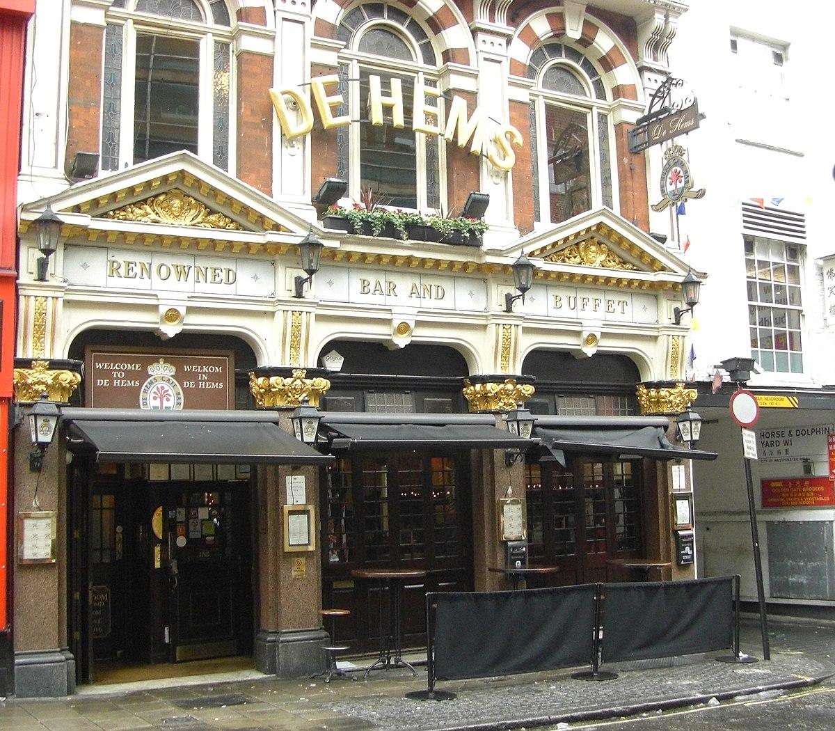 De Hems Dutch Cafe Bar London Wd Bw