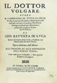 De Luca - Il dottor volgare, 1673 - 130.tif
