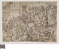 De bestraffing van Ananias en Saffira, 1551 - 1600, Groeningemuseum, 0041454000.jpg