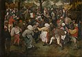 De dans der bruid, Pieter Bruegel I, 16de eeuw, Koninklijk Museum voor Schone Kunsten Antwerpen, 973.jpg