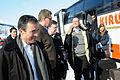 De nordiska statsministrarna anlander till Riksgransen. Fran vanster Anders Fogh Rasmussen Matti Vanhanen Geir H. Haarde och Fredrik Reinfeldt.jpg