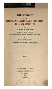 Decline and Fall of the Roman Empire vol 2 (1897).djvu