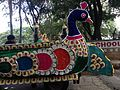 Decorated vehicle for carrying Ganesh for immersion.jpg