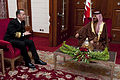 Defense.gov News Photo 110224-N-TT977-540 - Chairman of the Joint Chiefs of Staff Adm. Mike Mullen U.S. Navy visits Manama Bahrain on Feb. 24 2011. Mullen is on a weeklong trip through.jpg