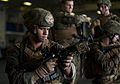 Defense.gov News Photo 111202-N-DX615-029 - U.S. Marine Corps Sgt. Alex Sanchez assigned to the 11th Marine Expeditionary Unit uses an M4 carbine to practice weapon malfunction drills in.jpg