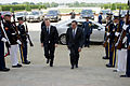 Defense.gov News Photo 120619-D-TT977-019 - Secretary of Defense Leon E. Panetta escorts New Zealand s Minister of Defense Jonathan Coleman through an honor cordon and into the Pentagon on.jpg