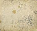 Dehodencq A. - Pencil - Etude de têtes (probablement d'après l'antique) - 26x23cm.jpg