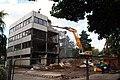 Demolition of former HIV research building (28385607534).jpg