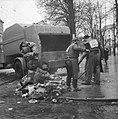 Demonstraties in Brussel tegen de Eenheidswet, stakers trekken door Luik, Bestanddeelnr 911-9368.jpg