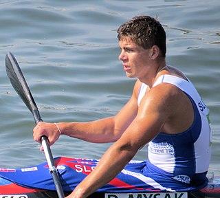 Denis Myšák Slovak canoeist