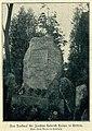 Denkmal für Joachim Heinrich Campe in Trittau, 1903.jpg