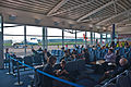 Departure lounge, Inverness Airport, Scotland, 19 April 2011 - Flickr - PhillipC.jpg