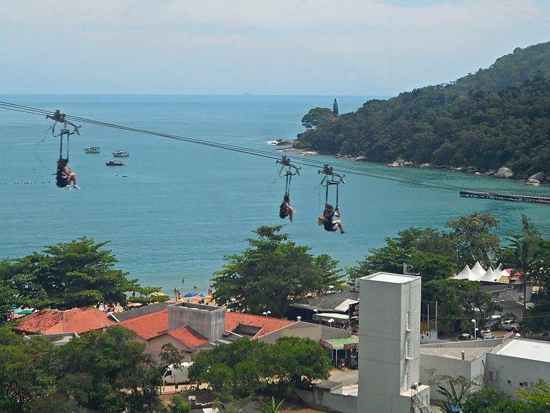 Pontos turísticos radicais em Santa Catarina