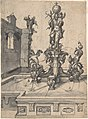 Design for an Elaborate Fountain Surmounted by a Statue of St. Christopher; verso- Studies of Architectural Details MET DP802906.jpg