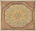Design for the decoration of a hexagonal ceiling with rinceaux MET DP811314.jpg