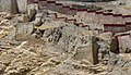 Destroyed building of Gyantse Dzong, foundation remnants, Gyantse, Tibet on 8 May 2015 (cropped).JPG