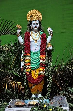 Ayurveda - Image: Dhanvantari at Ayurveda expo