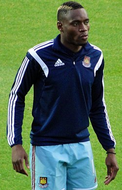 Diafra Sakho West Ham August 2014.jpg