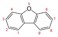 Skeletal formula showing numbering convention