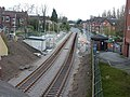 Didsbury Village Metrolink Stop Under Construction (geograph 3185533).jpg