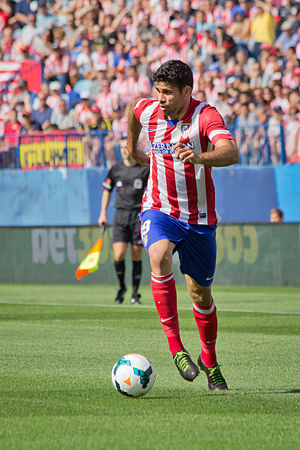 La Liga Player of the Month - Diego Costa, who won the first Player of the Month award in September 2013.