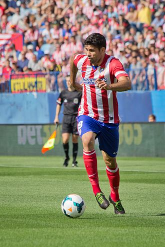 La Liga Player of the Month - Diego Costa won the first Player of the Month award in September 2013.