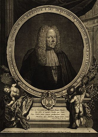 John V of Portugal - D. Diogo de Mendonça Corte-Real, John's Secretary of State and favourite.