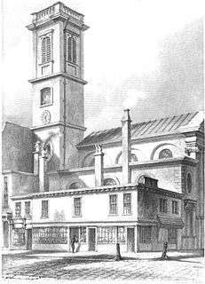 St Dionis Backchurch Church in London