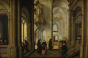 Dirck van Delen - Interior of a Church, 1628