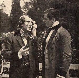 Disraeli (1921 film) - George Arliss and Reginald Denny