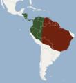 Distribution of Phyllostomus hastatus.png