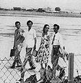 Djamal Samin, AN Alcaff, Fifi Young, and Sjurmany Diphawidjaja in Jakarta, Film Varia 2.6 (Jun 1955), p28.jpg