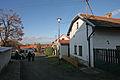 Dobřichov - ulička pod kostelem.JPG