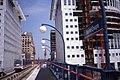 Docklands Light Railway - The DLR Heron Quays.Aug 1990.jpg