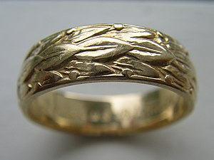 Doctoral ring - A doctoral ring from Uppsala university's philosophical faculty