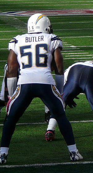 Donald Butler - Butler with the San Diego Chargers in 2011