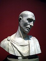 Donatello's Zuccone head (casting in Pushkin museum) by shakko 01.jpg